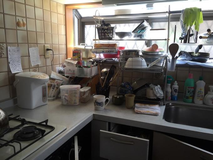 キッチン台所片付けサポート事例