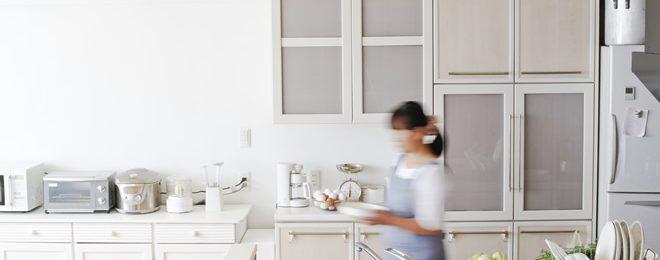 キッチン片付け