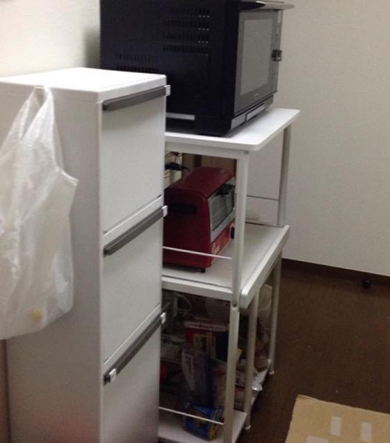 キッチン内整理収納改善事例ビフォーアフター