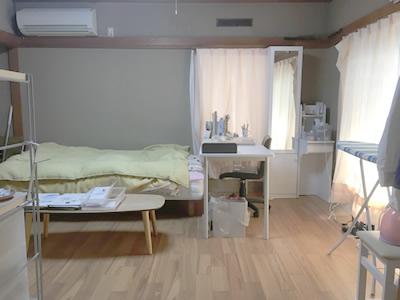 ベッド周り片付けサポート事例ビフォアーアフター